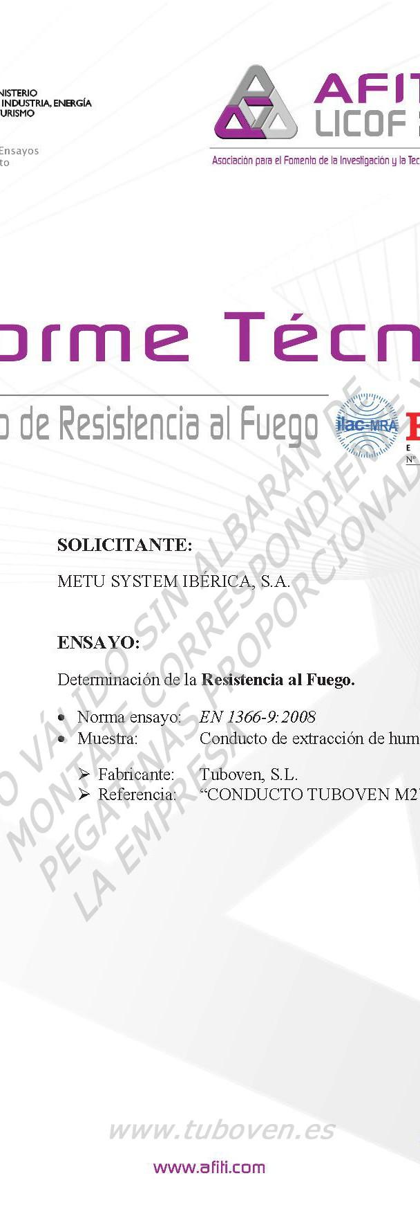 Certificados E600_120 METU