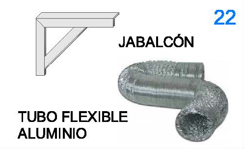 Productos tuboven tuboven - Tubo flexible aluminio ...