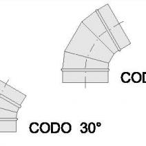 Codo 60º – 30º
