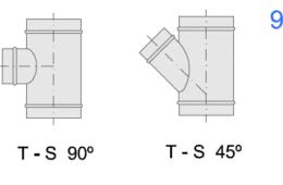 T-S 90º_45º