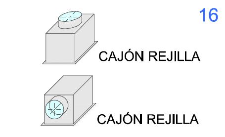 Cajón Rejilla