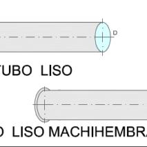 Tubo Liso y Machihembrado