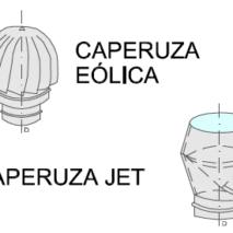 Caperuza Eólica y Jet