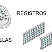 Registros y Rejillas