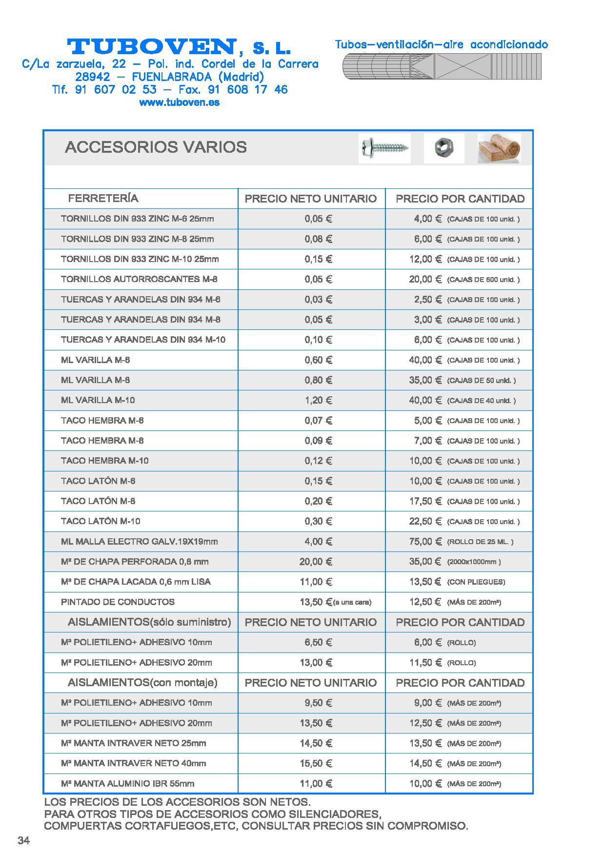 Detalle - Accesorios II